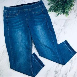 NYDJ Curves 360 Sculpt Crop Pull-On Stretch Jeans